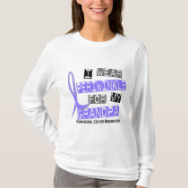 I Wear Periwinkle For My Grandpa Esophageal Cancer T-Shirt