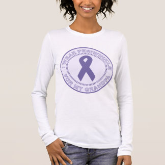 I Wear Periwinkle For My Grandpa Long Sleeve T-Shirt