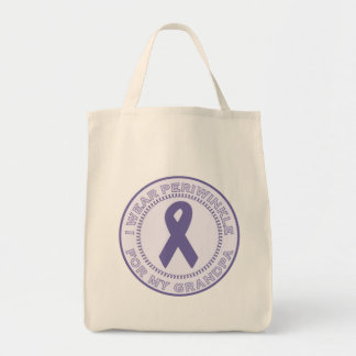 I Wear Periwinkle For My Grandpa Tote Bag