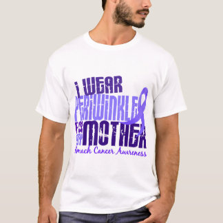 I Wear Periwinkle For My Mother 6.4 Stomach Cancer T-Shirt