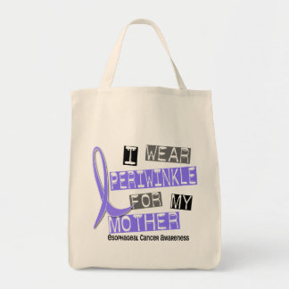 I Wear Periwinkle For My Mother Esophageal Cancer Tote Bag