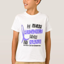 I Wear Periwinkle For My Nana 37 Stomach Cancer T-Shirt