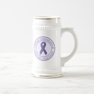 I Wear Periwinkle For My Partner Beer Stein