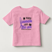 I Wear Periwinkle For My Paw Paw Esophageal Cancer Toddler T-shirt