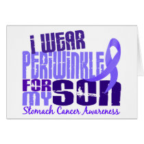 I Wear Periwinkle For My Son 6.4 Stomach Cancer