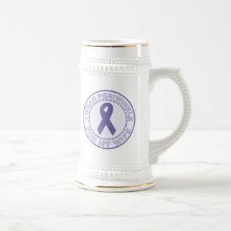 I Wear Periwinkle For My Wife Coffee Mug