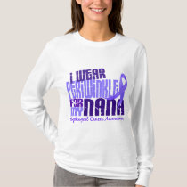 I Wear Periwinkle For Nana 6.4 Esophageal Cancer T-Shirt
