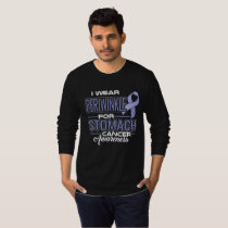 I Wear Periwinkle For Stomach Cancer Awareness T-Shirt