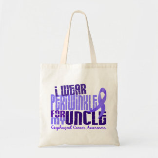 I Wear Periwinkle For Uncle 6.4 Esophageal Cancer Canvas Bag