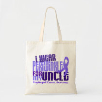 I Wear Periwinkle For Uncle 6.4 Esophageal Cancer Tote Bag