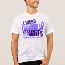 I Wear Periwinkle For Wife 6.4 Esophageal Cancer T-Shirt