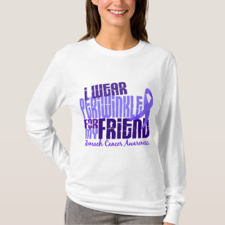 I Wear Periwinkle Friend 6.4 Stomach Cancer T-Shirt