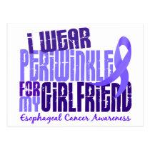 I Wear Periwinkle Girlfriend 6.4 Esophageal Cancer Postcard