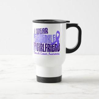 I Wear Periwinkle Girlfriend 6.4 Stomach Cancer Travel Mug