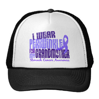 I Wear Periwinkle Grandmother 6.4 Stomach Cancer Hat