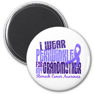I Wear Periwinkle Grandmother 6.4 Stomach Cancer Magnets