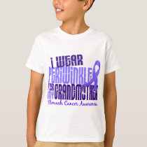 I Wear Periwinkle Grandmother 6.4 Stomach Cancer T-Shirt