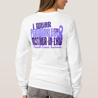 I Wear Periwinkle Mother-In-Law 6.4 Stomach Cancer T-Shirt