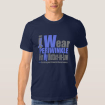 I Wear Periwinkle Ribbon For My Mother-in-Law Shirt
