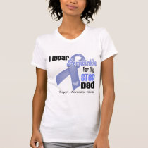 I Wear Periwinkle Ribbon For My Step-Dad T-Shirt