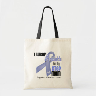 I Wear Periwinkle Ribbon For My Step-Mom Bags