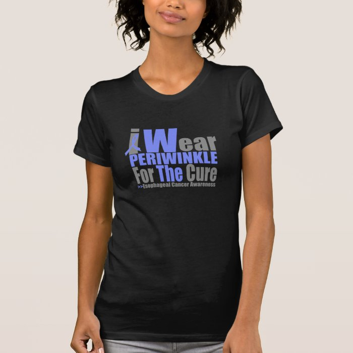 I Wear Periwinkle Ribbon For The Cure T-Shirt