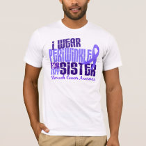 I Wear Periwinkle Sister 6.4 Stomach Cancer T-Shirt