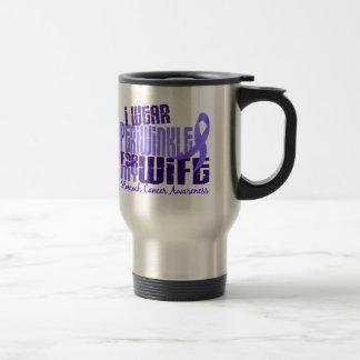 I Wear Periwinkle Wife 6 4 Stomach Cancer Mug