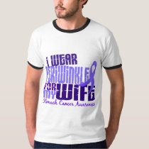 I Wear Periwinkle Wife 6.4 Stomach Cancer T-Shirt