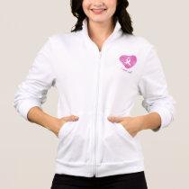 I wear Pink- A breast cancer awareness symbol Jacket