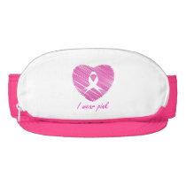 I wear Pink- A breast cancer awareness symbol Visor