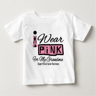 I Wear Pink Breast Cancer Grandma (Retro) Shirts