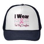 I Wear Pink Collage Daughter - Breast Cancer Trucker Hat
