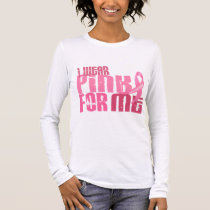 I Wear Pink For Me 6.4 Breast Cancer Long Sleeve T-Shirt