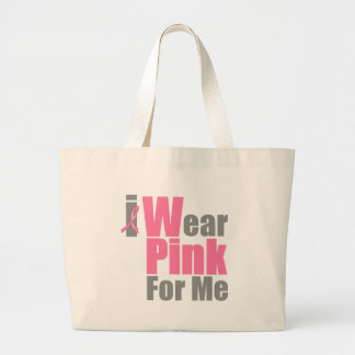 I Wear Pink For Me Tote Bags