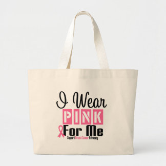 I Wear Pink For Me Canvas Bag