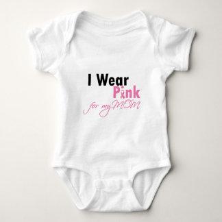 I wear Pink for Mom Baby Bodysuit
