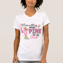 I Wear Pink For My Aunt 27 Breast Cancer T-Shirt