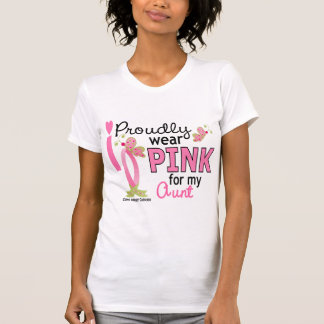I Wear Pink For My Aunt 27 Breast Cancer Tee Shirt