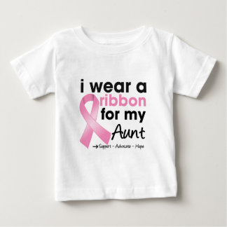I Wear Pink For My Aunt Breast Cancer Infant T-shirt
