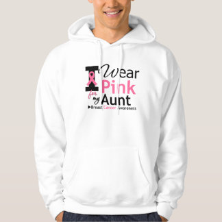I Wear Pink For My Aunt Hoodie