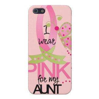 I Wear Pink for my Aunt iphone 4 Case