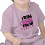 I Wear Pink for My Aunt Tees