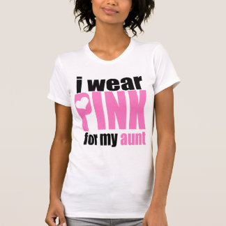 I Wear Pink for my Aunt Tshirt