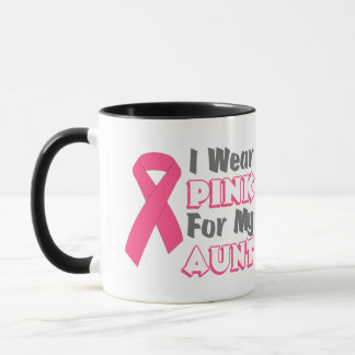 I Wear Pink For My Aunt (Version B) Mug