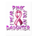 I Wear Pink for my Daughter.png Postcard