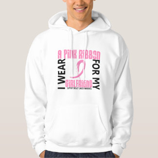 I Wear Pink For My Girlfriend 46 Breast Cancer Hoodie