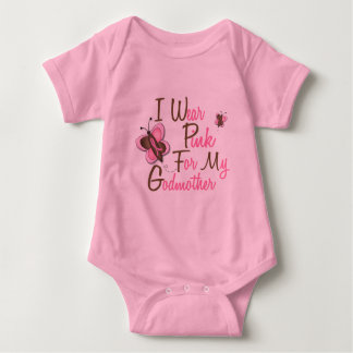 I Wear Pink For My Godmother 22 BREAST CANCER Tees