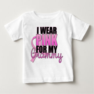 I Wear Pink for My Grammy - Breast Cancer T-shirt