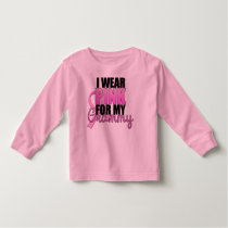 I Wear Pink for My Grammy - Breast Cancer Toddler T-shirt